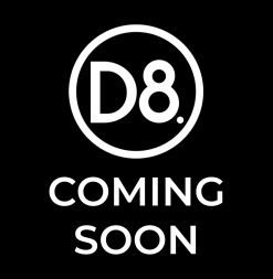 d8 coming soon logo